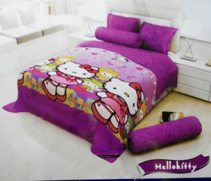Sprei Santika Hello Kitty