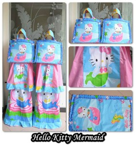Mukena Anak Karakter Hello Kitty Mermaid (S,M,L,XL,XXL)