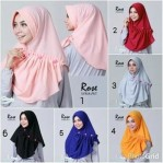 Jilbab Instan Rose Pet
