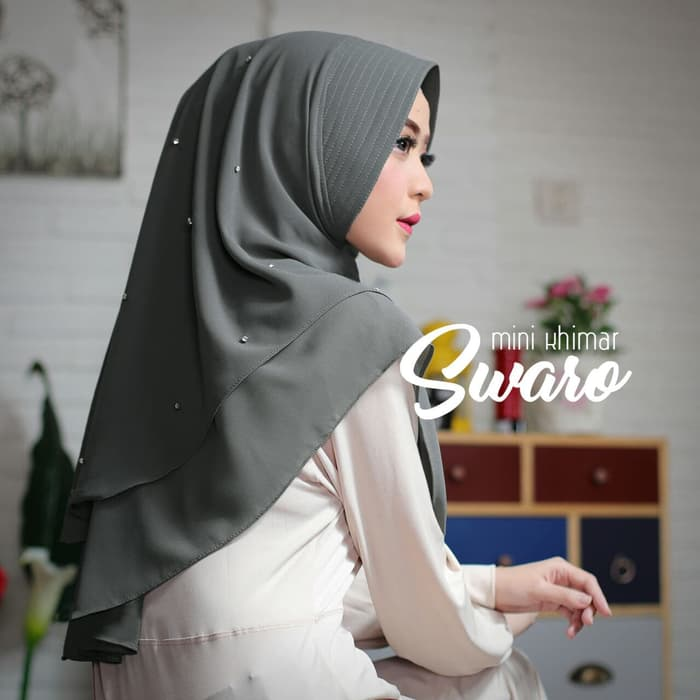 Jilbab Instan Mini Khimar Swaro Simple Modis